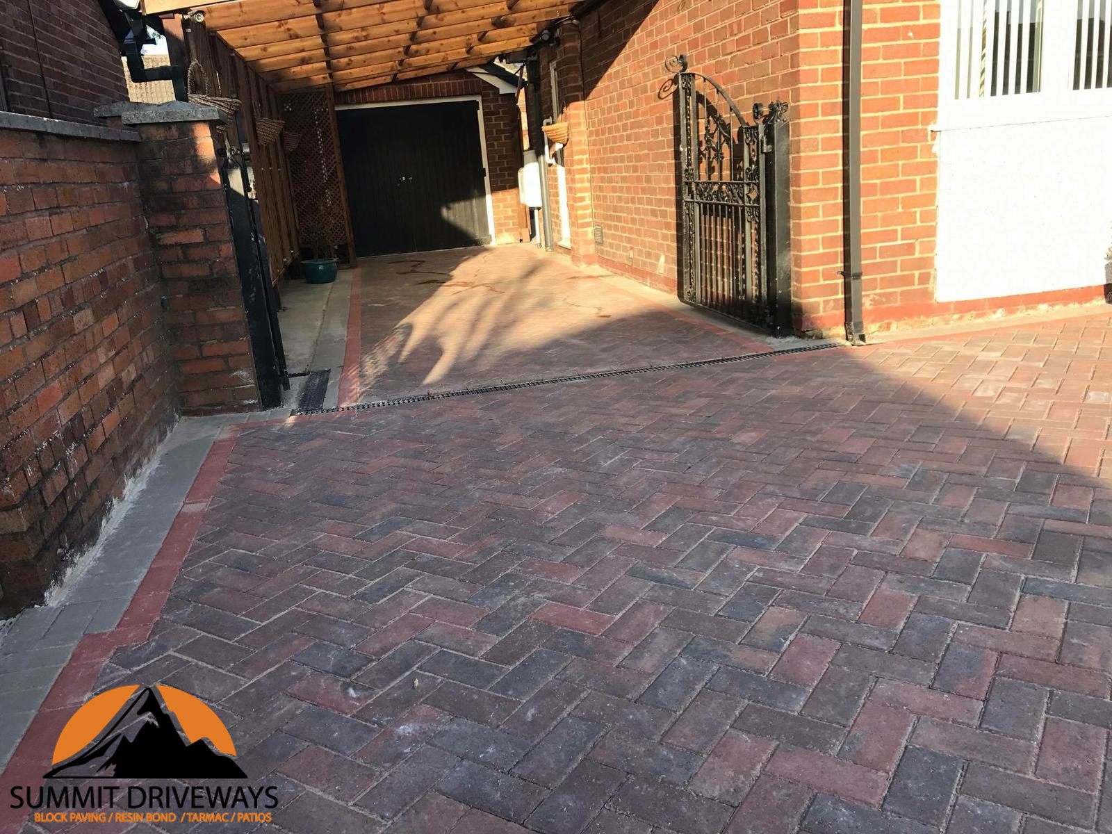 Driveway Installation With Paving