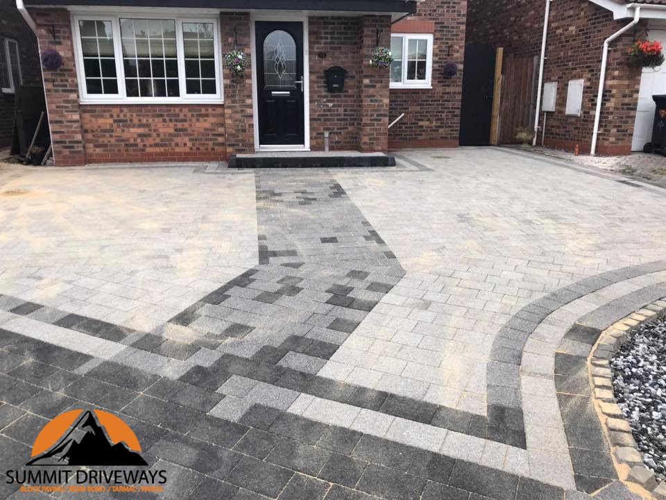 Block Paving Driveways in Hinckley
