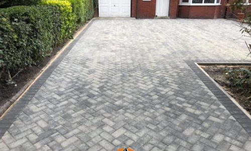 New Block Paved Driveway in Nuneaton
