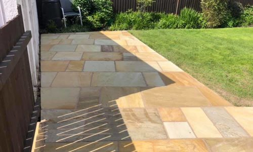 New Indian Sandstone Patio Nuneaton
