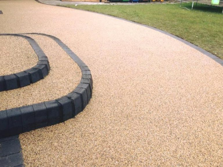 Resin Bonded Driveway Installation in Camp Hill, Nuneaton