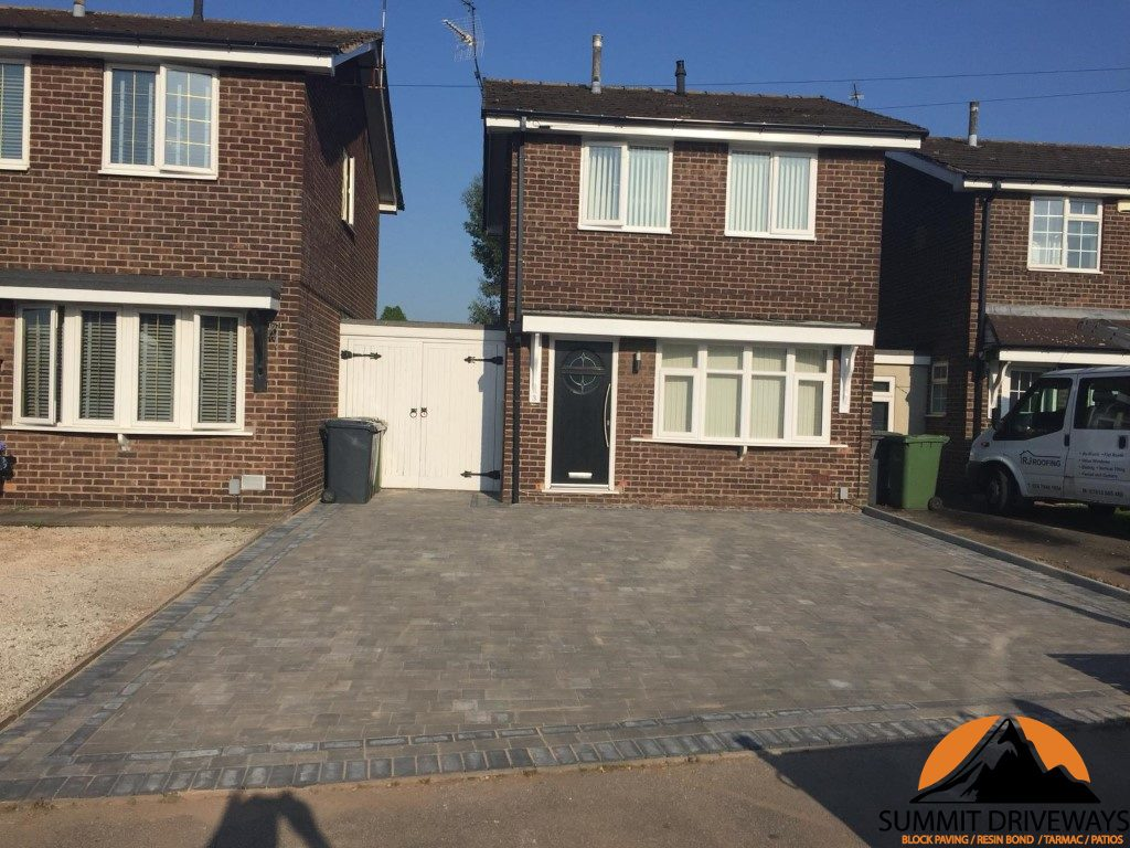 New Driveway With Block Paving in Nuneaton