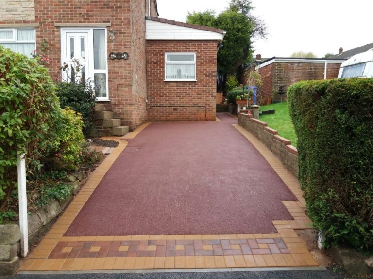 Red Tarmac Driveway Installers