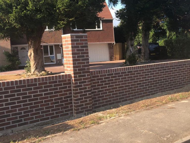 Walls and Brick Laying in Nuneaton
