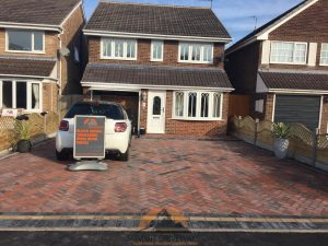 New Driveway With Dropped Kerb in Nuneaton
