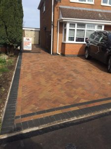 New Block Paving Driveway in Nuneaton