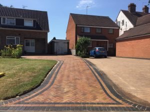 Marshall Block Paving Driveway in Hillmorton, Rugby