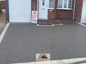Resin Bound Driveway in Bilton, Rugby